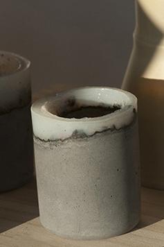 Tee/Windlichter - Concrete